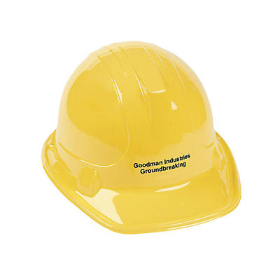 Personalized Yellow Construction Hats   Oriental Trading