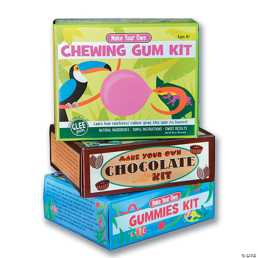 make your own candy kits set of 3