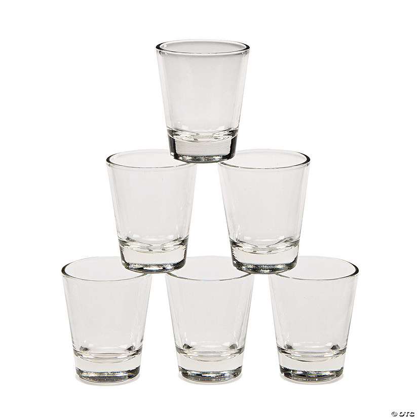 Clear Glass Shot Glasses