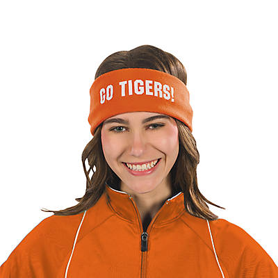 Orange Personalized Headbands Oriental Trading