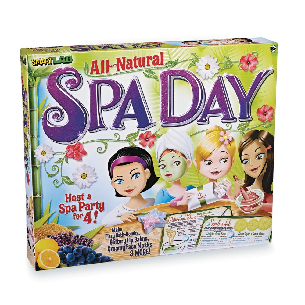 All Natural Spa Day From MindWare