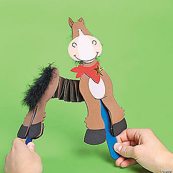horse craft ideas for kids accordion craft kit trading discontinued 6739