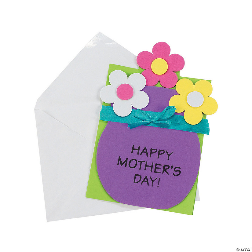 Mother S Day Pull Out Card Craft Kit Oriental Trading