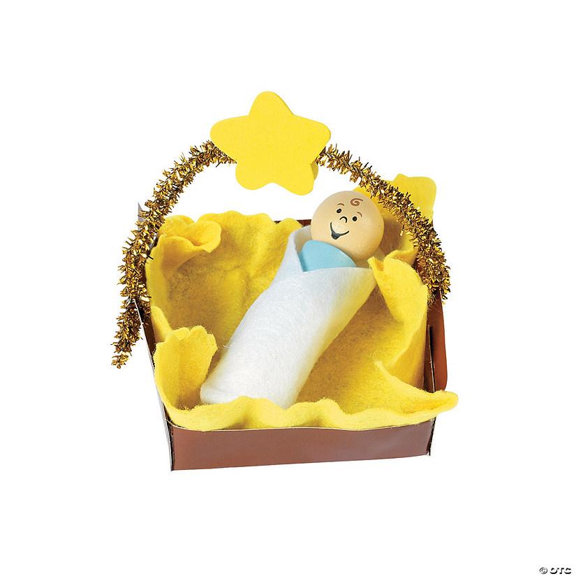 Baby Jesus Christmas Ornament Craft Kit