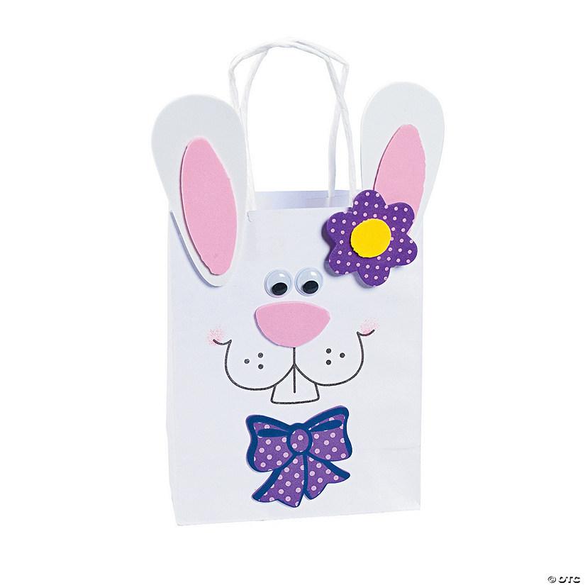bunny gift bag craft kit