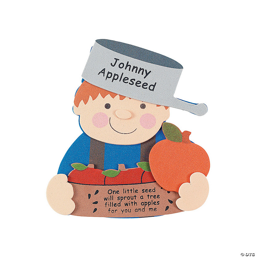 Johnny Appleseed Magnet Craft Kit Oriental Trading