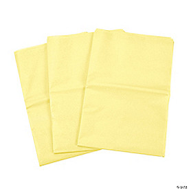 Yellow Tissue Paper Sheets
