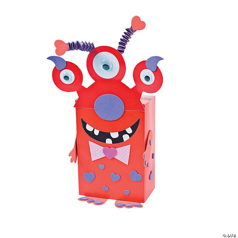 Monster Valentine Card Holder Craft Kit - Discontinued