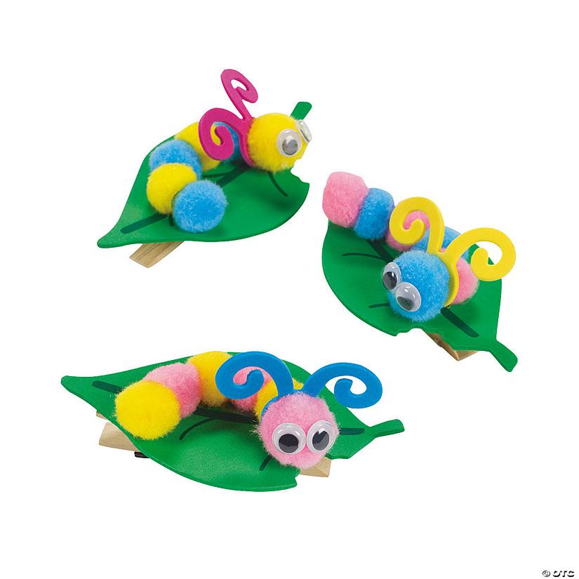 Pom Pom Caterpillar Note Holder Craft Kit