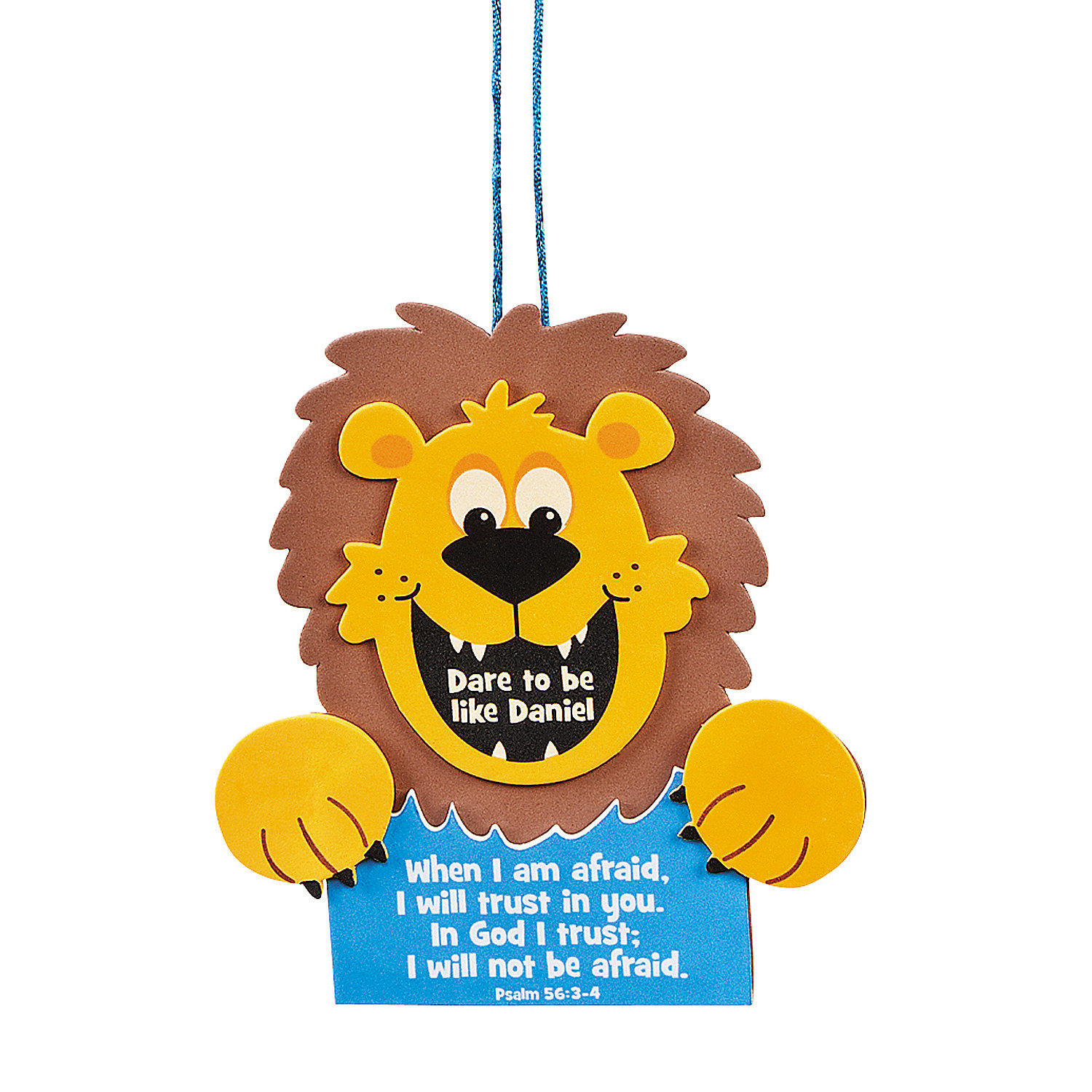 daniel and the lions den craft to be like daniel sign craft kit trading 7656