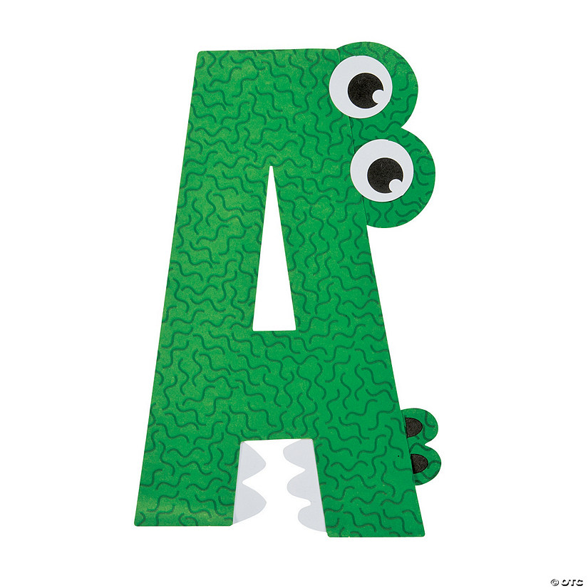 A Is For Alligator Letter A Craft Kit Discontinued