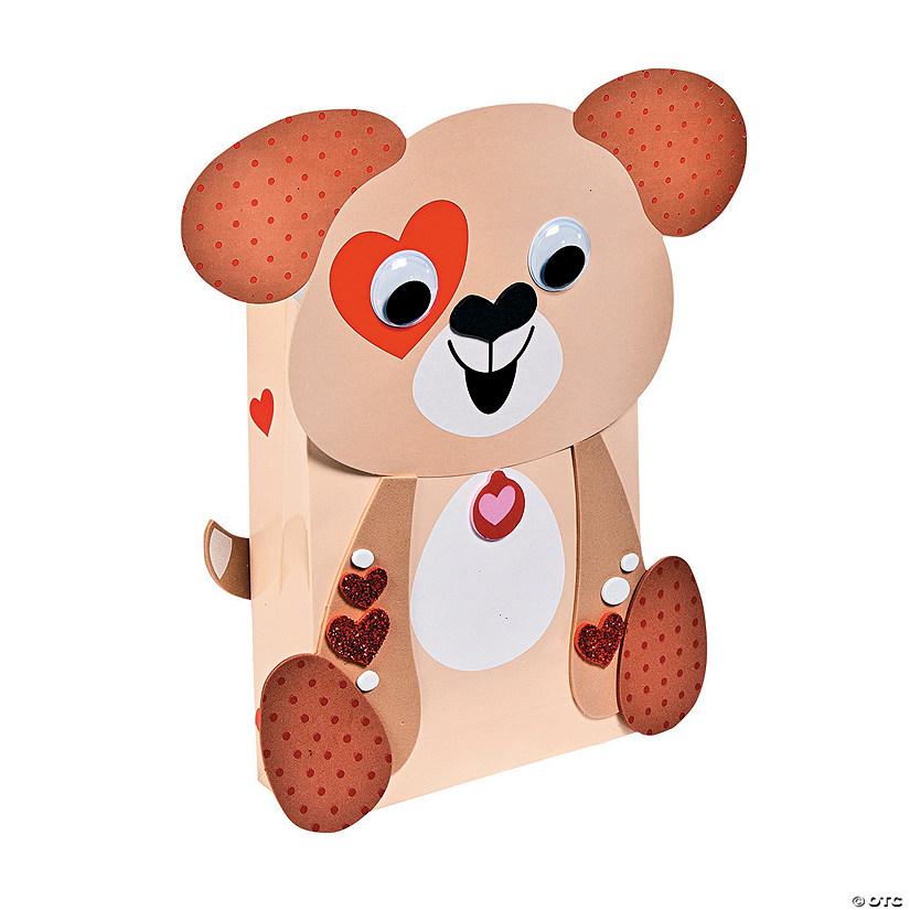 puppy valentine card holders craft kit
