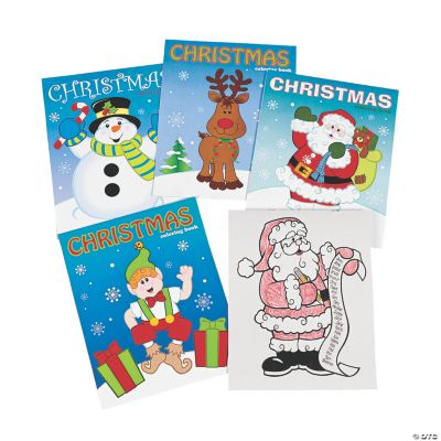 - Christmas Coloring Books Oriental Trading