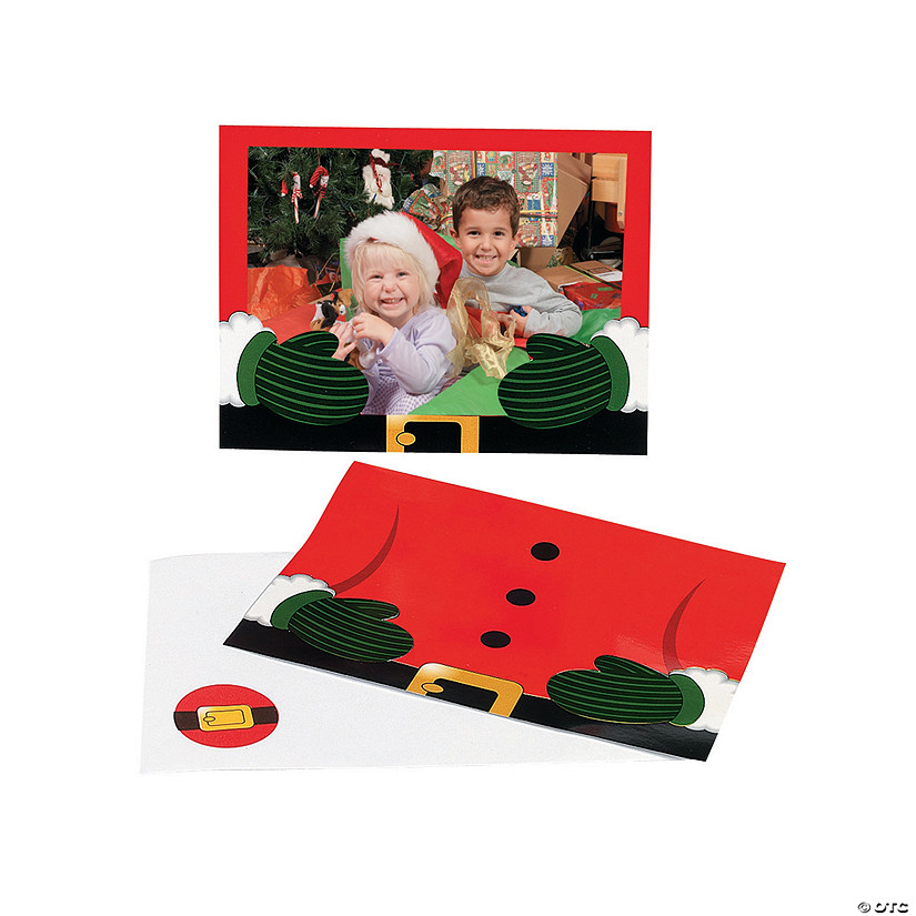 santa photo cards - 4x6 Photo Insert Christmas Cards