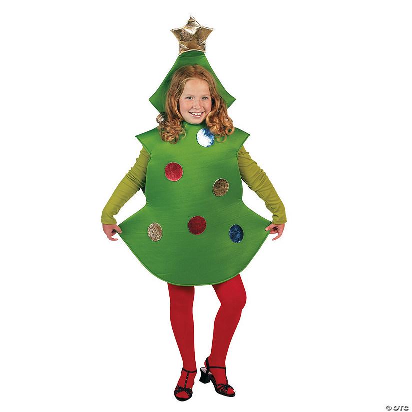 Christmas Tree Costume.Kid S Christmas Tree Costume