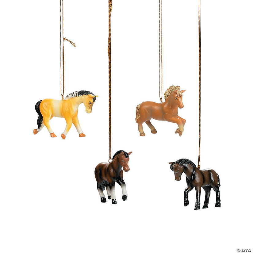 horse christmas ornaments - Horse Christmas Ornaments