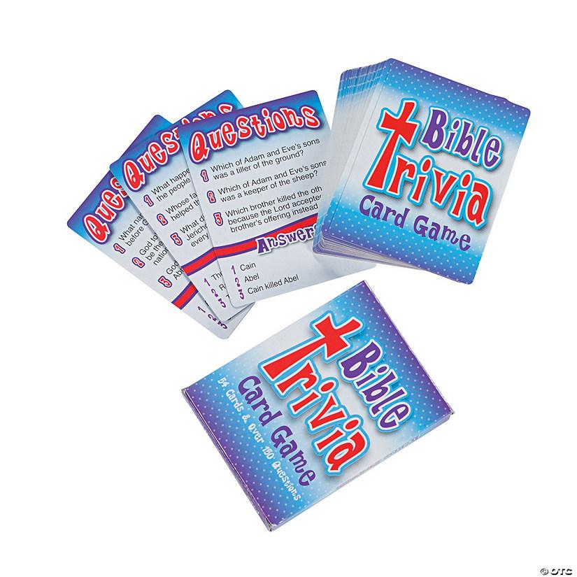 Bible Trivia Card Game - Discontinued