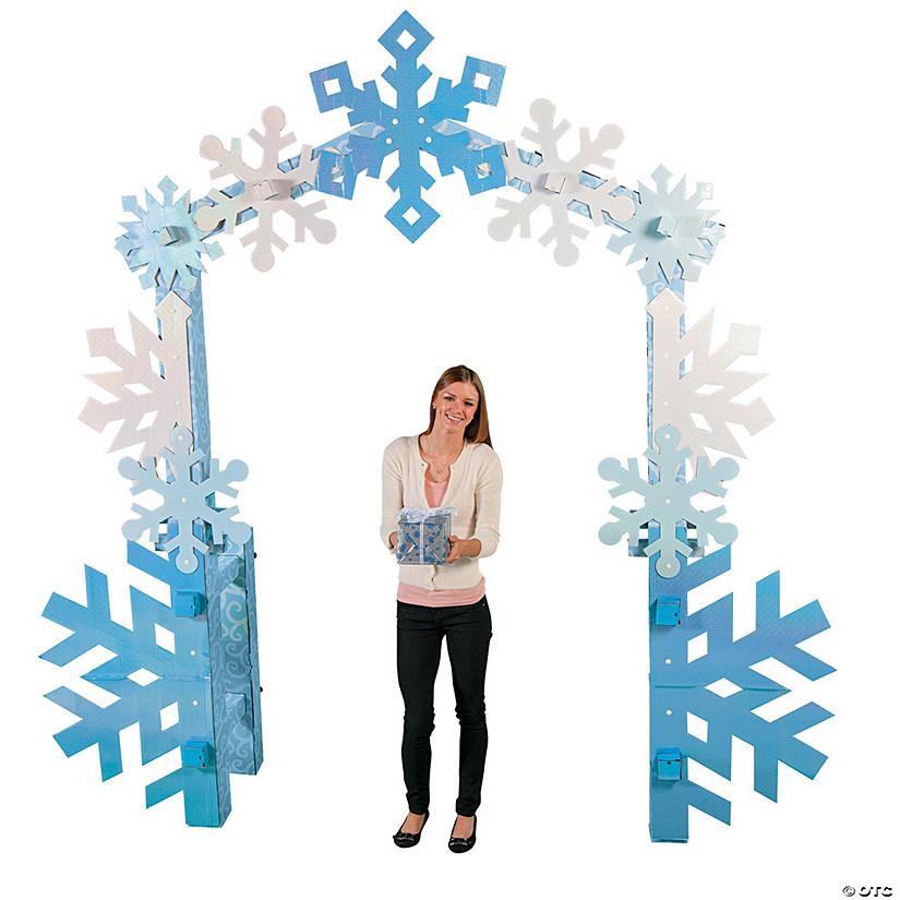 Winter Wonderland Archway Cardboard Stand Up