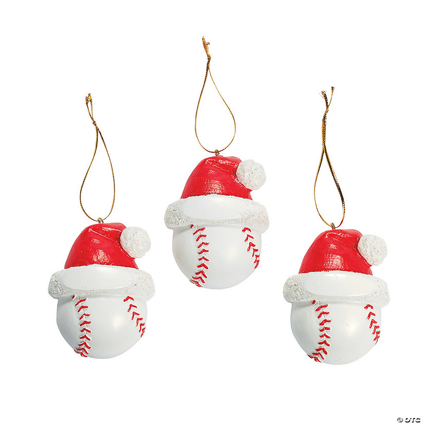 - Baseball Christmas Ornaments