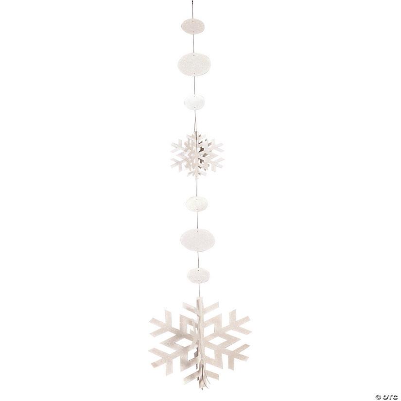 Jumbo Snowflake Hanging Decorations