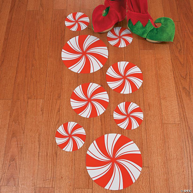 Peppermint Floor Decals Oriental Trading