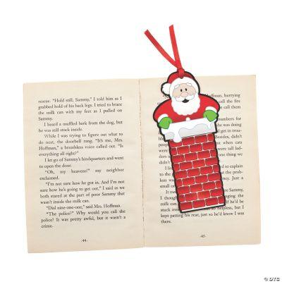 Santa In The Chimney Bookmarks