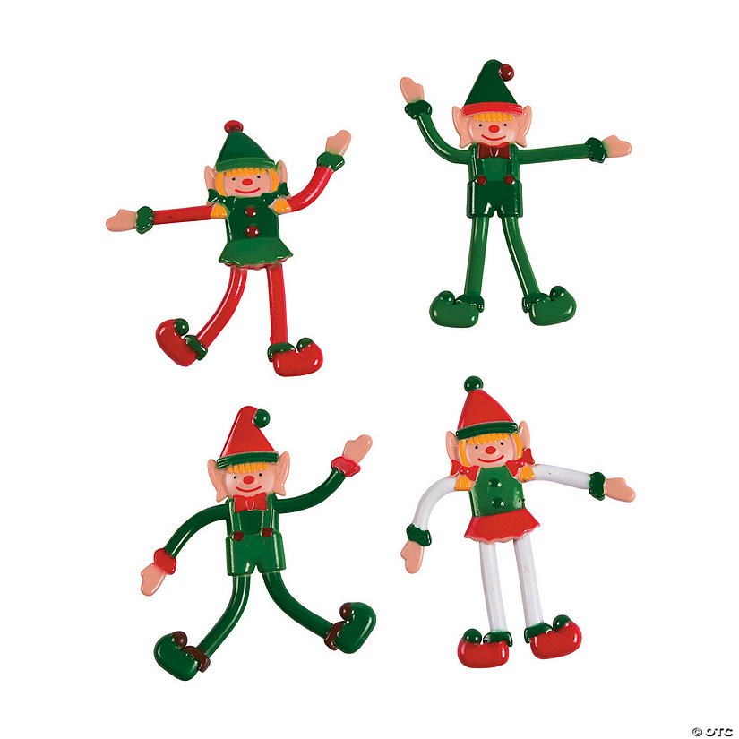 Christmas Elf.Christmas Elf Bendables