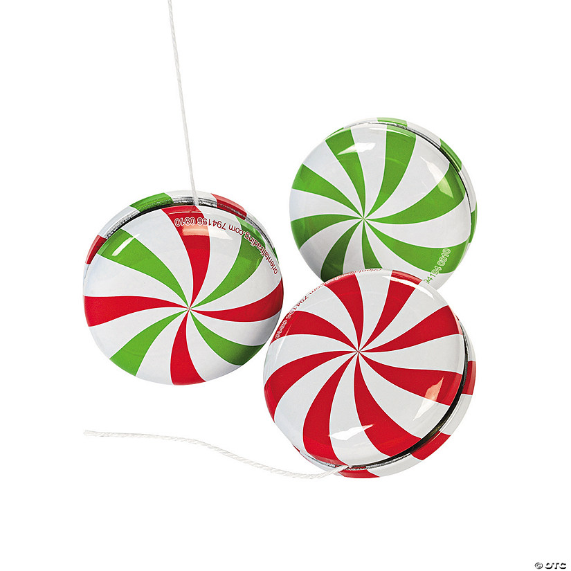peppermint candy yoyos