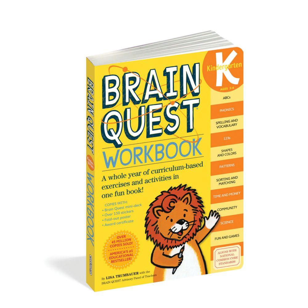 Brain Quest Workbook: Kindergarten From MindWare