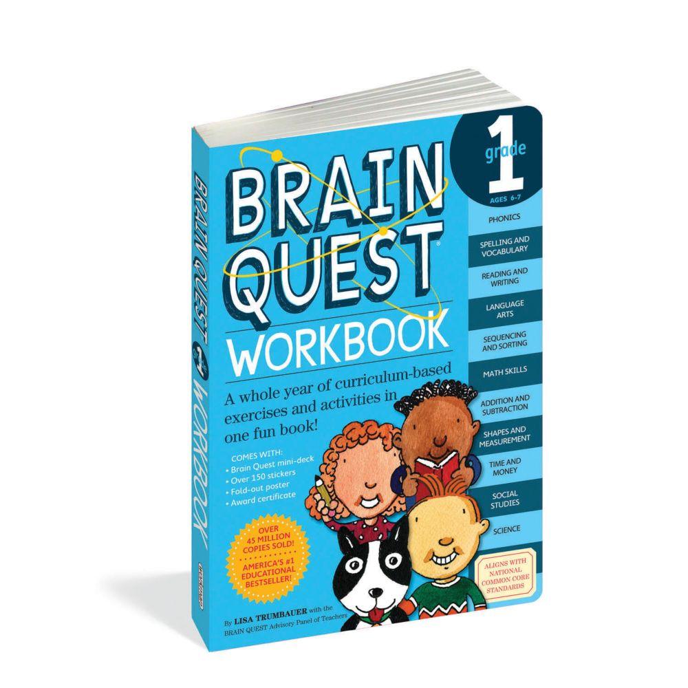 Brain Quest Workbook: Grade 1 From MindWare