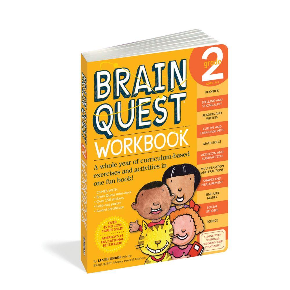 Brain Quest Workbook: Grade 2 From MindWare