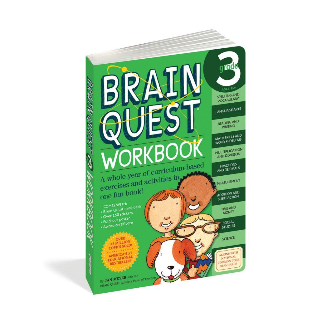 Brain Quest Workbook: Grade 3 From MindWare