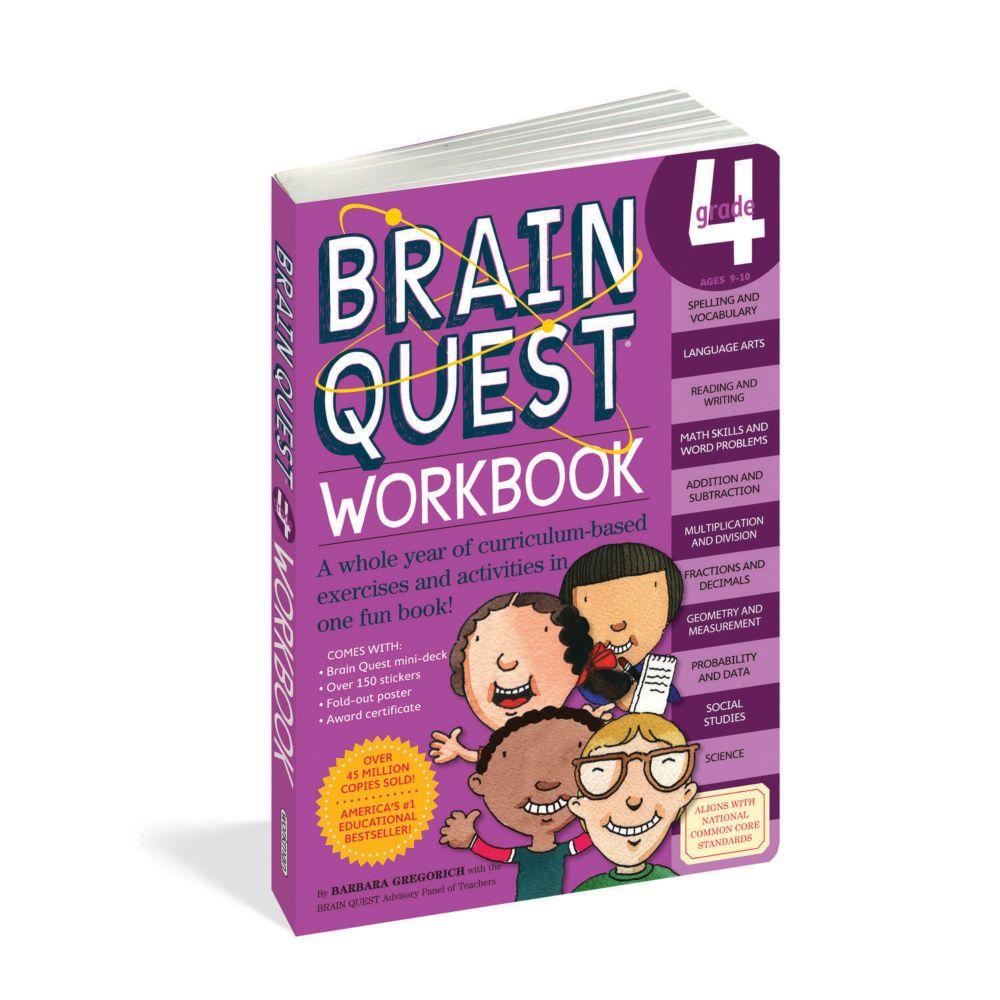 Brain Quest Workbook: Grade 4 From MindWare