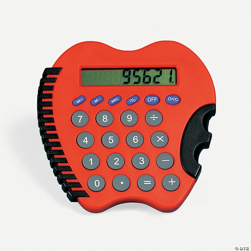 Apple-Shaped Calculator - Discontinued