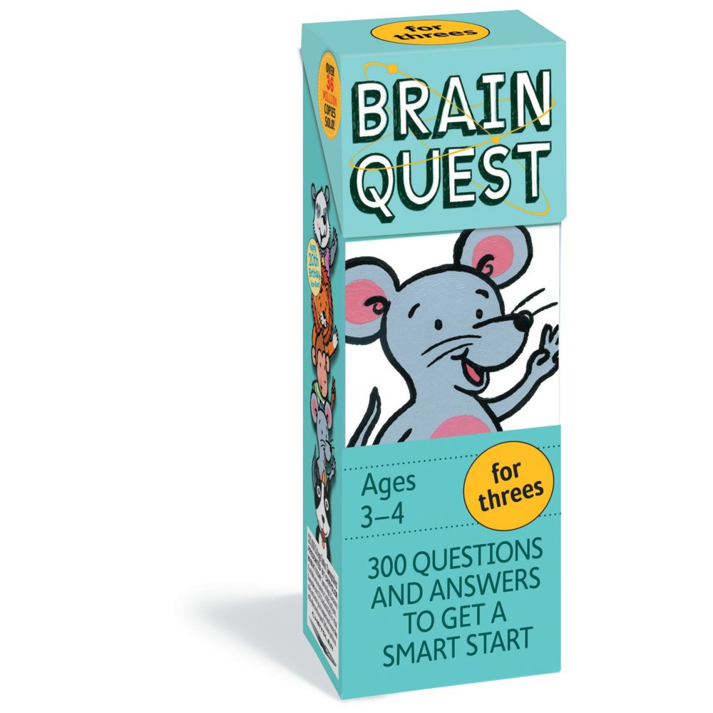 Brainquest For Threes - 4Th Edition From MindWare