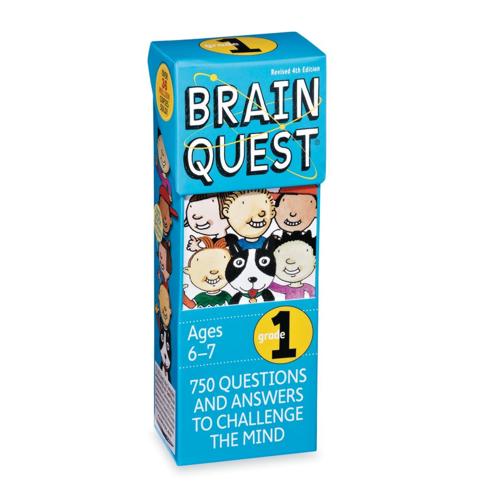 Brainquest Grade 1 - 4Th Edition From MindWare