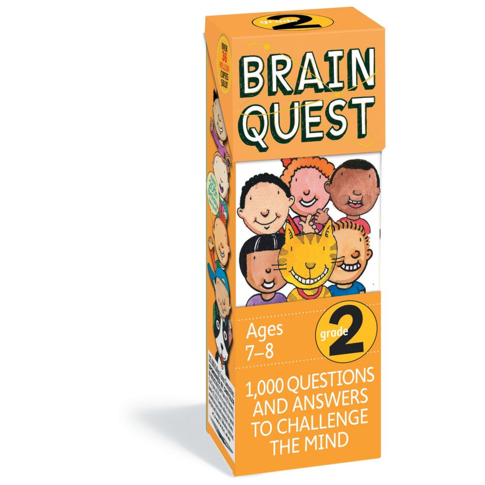 Brain Quest 2nd Grade From MindWare