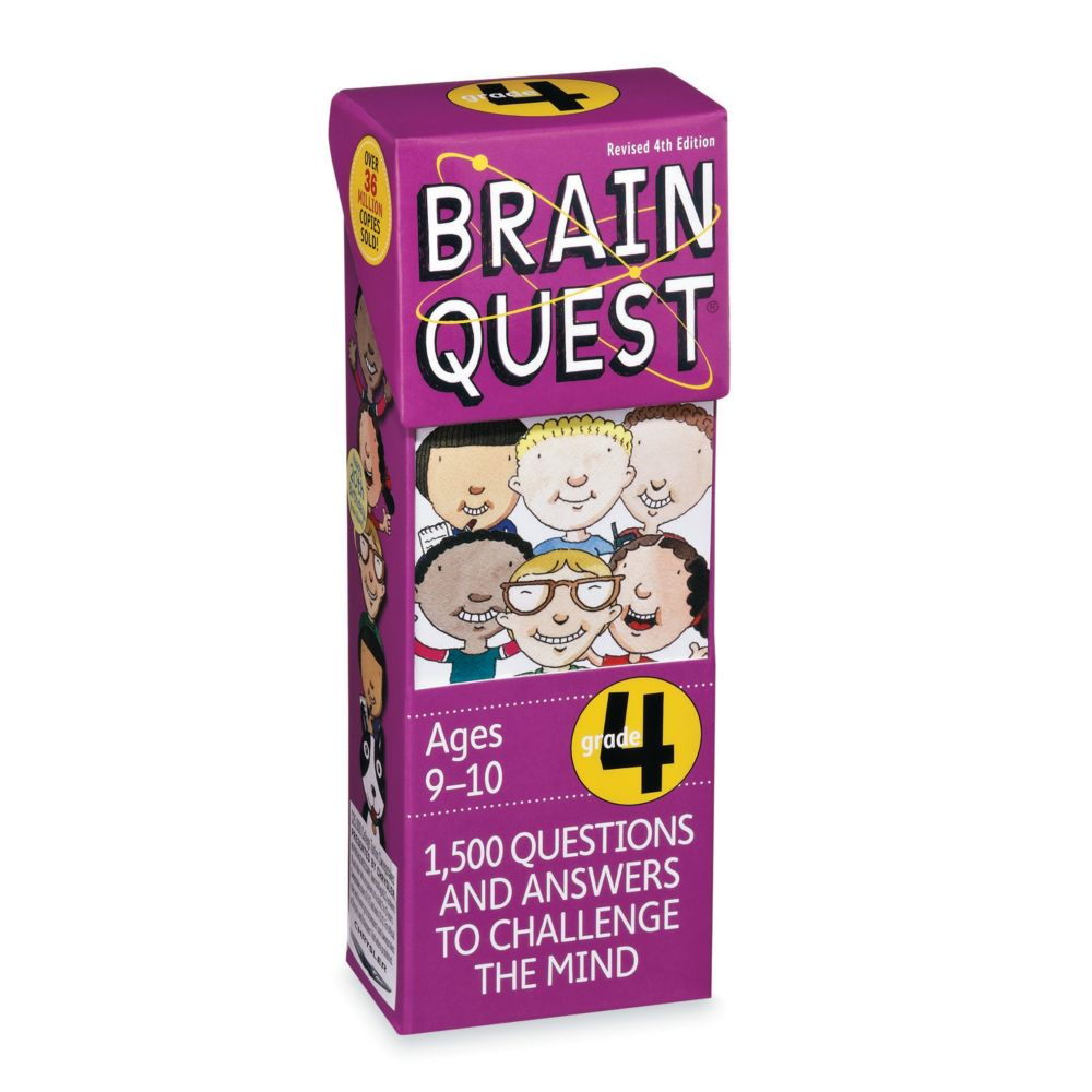 Brainquest Grade 4 - 4Th Edition From MindWare