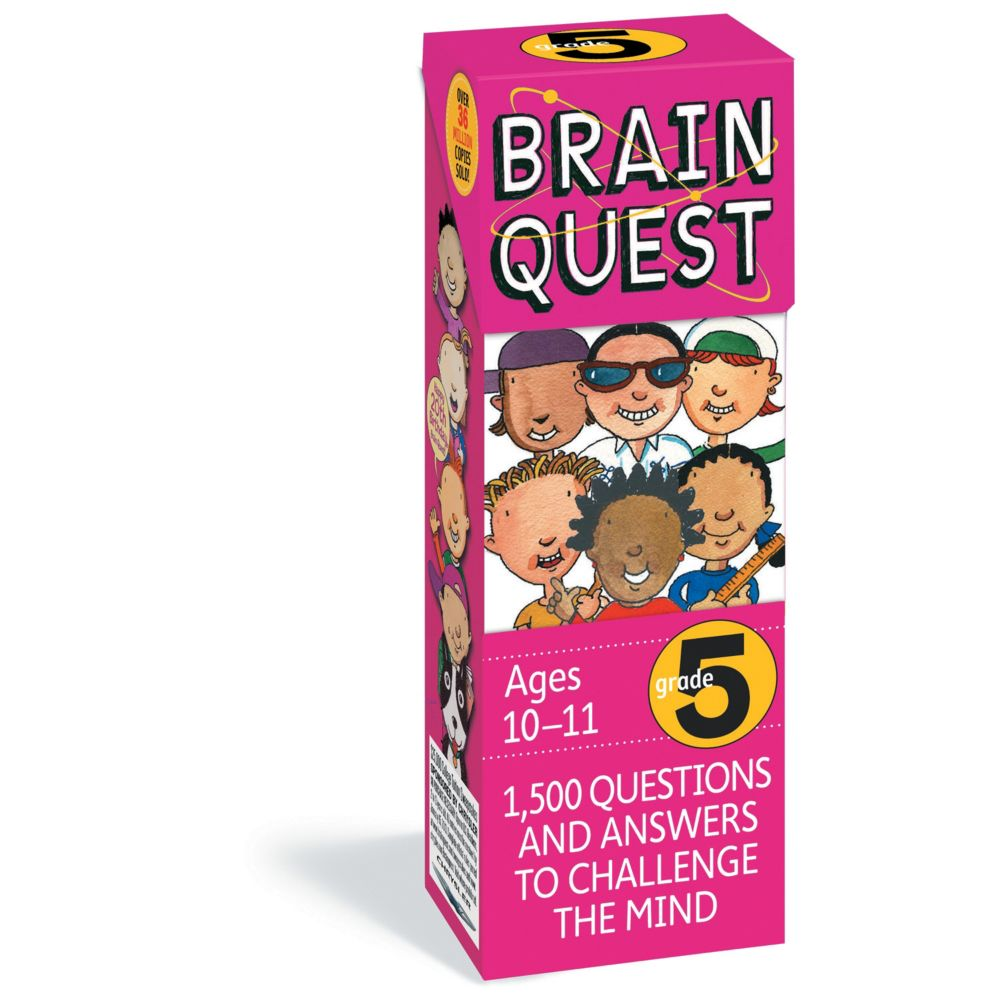 Brainquest Grade 5 - 4Th Edition From MindWare