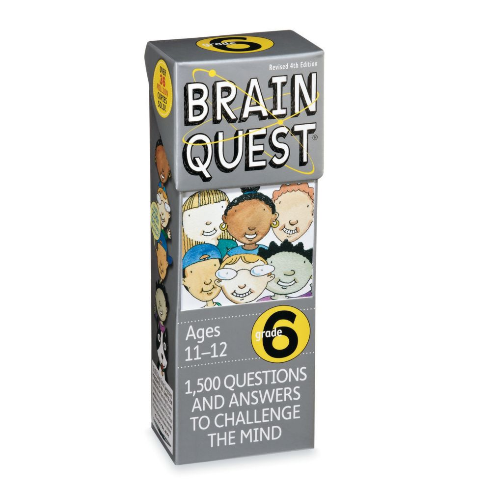 Brainquest Grade 6 - 4Th Edition From MindWare