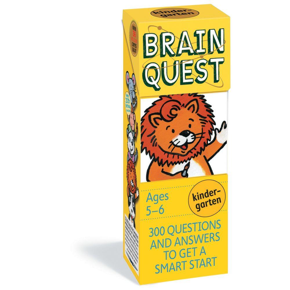 Brainquest Kindergarten - 4Th Edition From MindWare