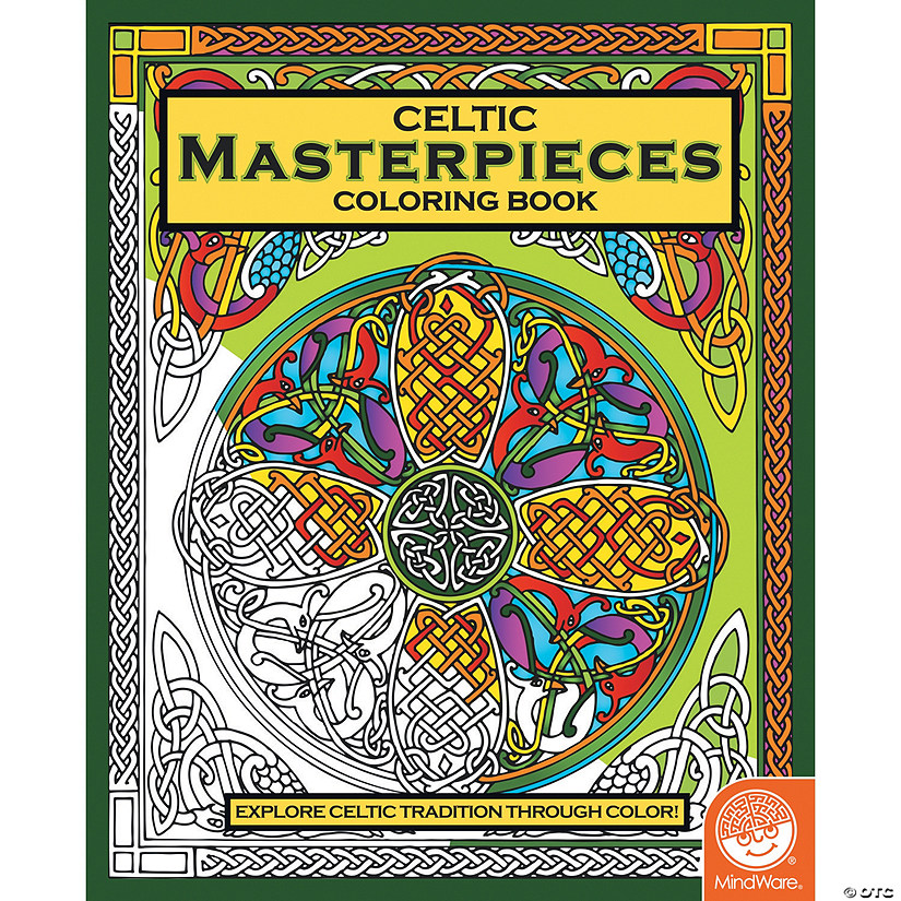 Celtic Masterpieces Coloring Book