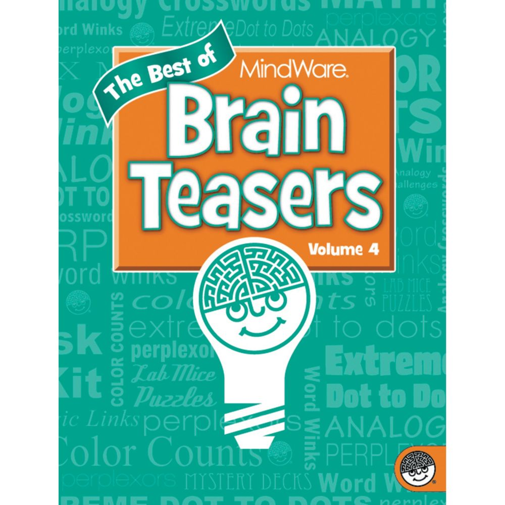 Best of MindWare Brain Teasers: Volume 4 From MindWare