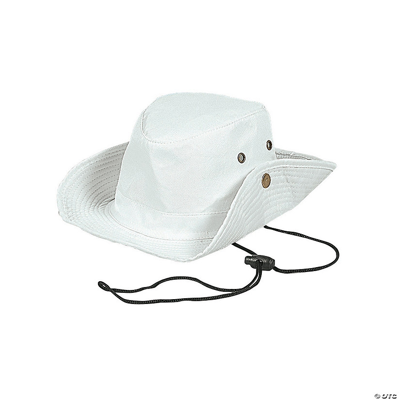 5b69bf901e8d9 DIY White Adventure Hats For Kids - 12 pcs. - Discontinued
