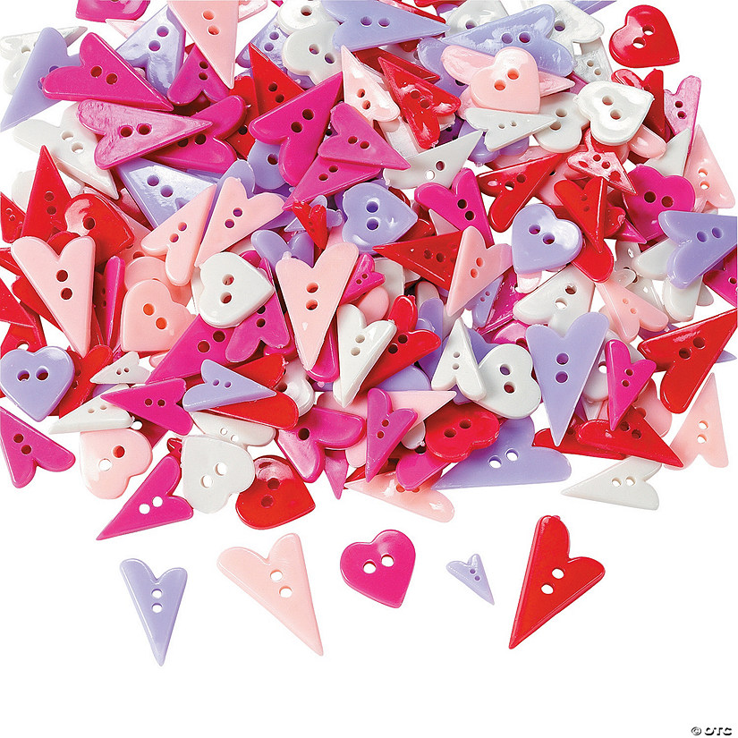Heart-Shaped Buttons