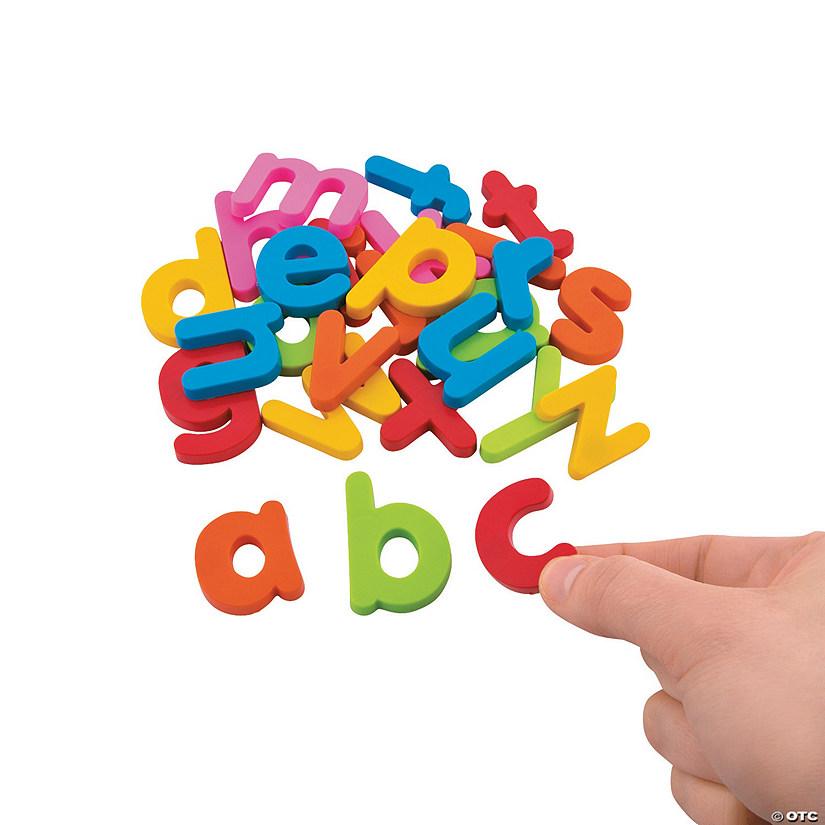Plastic Magnetic Letters Lowercase Letter Set