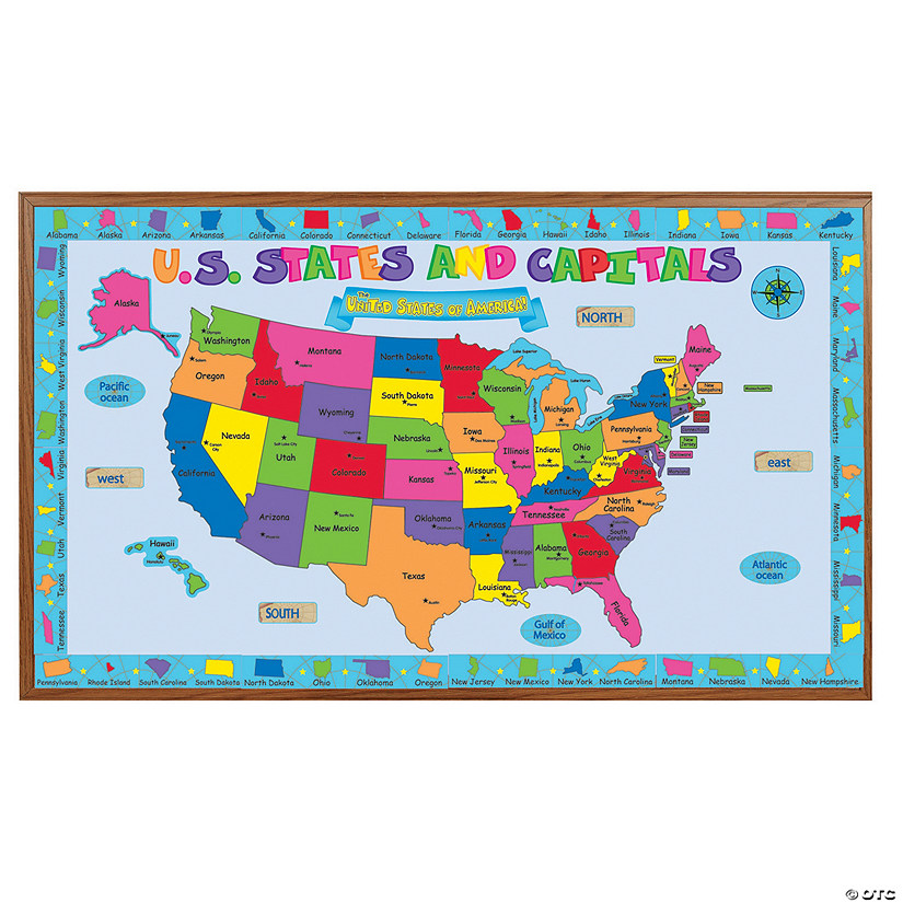 United States Bulletin Board Set - Discontinued