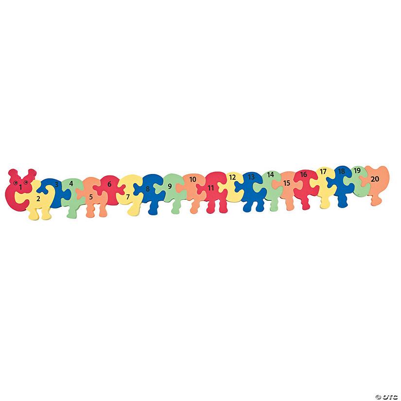 Caterpillar Numbering Manipulatives Puzzle - Discontinued