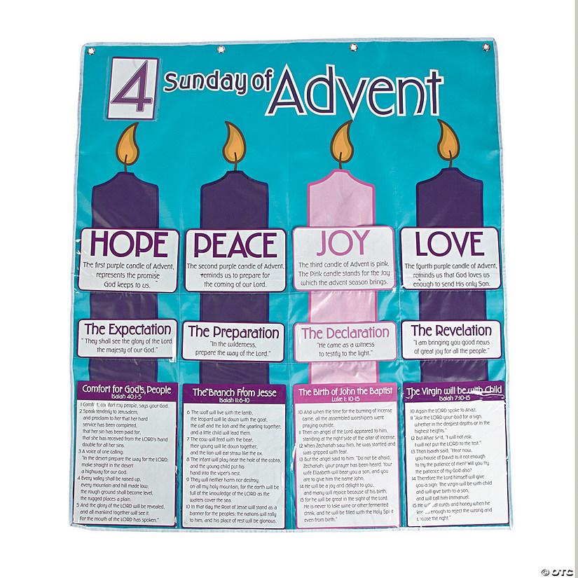 Advent Calendar Pocket Chart Discontinued
