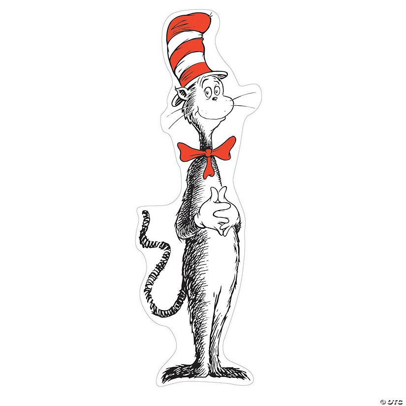 Dr. Seuss™ Giant Cat in the Hat™ Bulletin Board Set ...